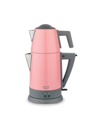Schafer Teepoint Elektrikli Çay Makinesi - Pem01 Pembe